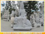 Escultura de piedra de Buddha de la estatua de Guanyin