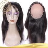 Aaaaaaaa 360 vordere rohe brasilianische Jungfrau-europäisches menschliches Klipp-Haar