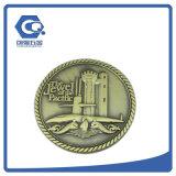 Projeto 3D de fundição feito-à-medida moeda comemorativa