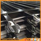 Высокое качество оцинкованные стальные трубы ограждения