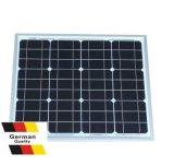 Панель солнечных батарей 30W высокого качества Mono (AE30M5-36)