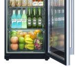 Profilé en aluminium d'un réfrigérateur de vitre de porte en verre avec un chauffage électrique