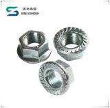 Haute qualité DIN934 l'écrou hexagonal galvanisé avec vis DIN933
