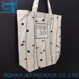 10 Oz Cor Natural ou saco de algodão com seu próprio logotipo