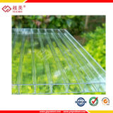 Greca Sheet Feuille ondulée Polycarbonate UV Sheet Clear Panel