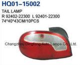 L'Assemblea della lampada di coda misura l'accento 1998-1999 (92402-22300/92401-22300) della Hyundai