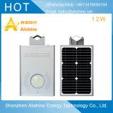 indicatore luminoso di via solare del villaggio di alta qualità 12W della lampada esterna economica LED della strada