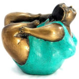 Femme de bronze sculpture abstraite antique pour la vente