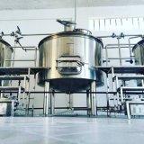 1000L de Machine van de brouwerij, de Brouwerij van het Bier van het Roestvrij staal de Apparatuur van het Bierbrouwen van /Draft van de Brouwerij van de Installatie/Twee Ketel Voor Staaf