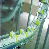 Transportes Chain da placa superior plástica para bebidas macias do frasco