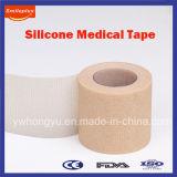 Nastro medico non tessuto respirabile e Hypoallergenic del silicone