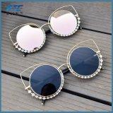 Ojo de Gato gafas de sol Gafas de sol de bastidor de metal para la Mujer