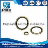 NBR Viton Metal/ Zinc Plated Steel Compound Gasket Bolt Washer Bonded Seal