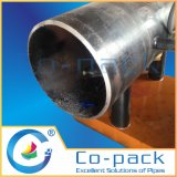 Smussatura fredda del tubo simultaneamente ellittico e tagliatrice