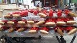 Настраиваемые подъемный стол ножничного типа с красного цвета