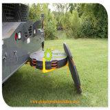 까만 색깔 재상할 수 있는 HDPE 기중기 다리 안정제 Pads/UHMWPE에 의하여 재생되는 물자 기중기 패드