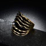 Конструкции кольца перста золота ретро заявления самые последние