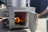 Los pequeños incinerador de residuos médicos, máquina de la incineración de residuos