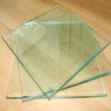 Le verre trempé 10 mm avec bords polis