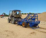 Strand-Sand-Abfall-Kehrmaschine räumen Abfall auf