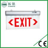 Placa acrílica recarregável personalizada do sinal do diodo emissor de luz