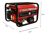 piccoli gruppi elettrogeni della benzina della famiglia 1-10kw con il Ce di olio combustibile del generatore di certificazione di iso