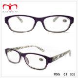 Последнюю версию мода пластиковые дамы чтения очки с чехлом WRP503142)