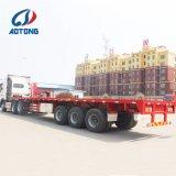 Flachbett-Behälter-halb Schlussteil 2018 der Aotong Marken-40FT für Verkauf