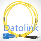 Fibra Patch Cord SC/PC-ST/PC millimetro Duplex LSZH 3.0mm