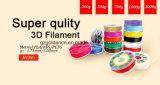 filament de l'impression 3D de 1.75mm pour l'imprimante 3D