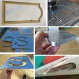 Router plástico de madeira do CNC da gravura da estaca do metal