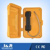 Ringdownの電話、耐候性がある電話、保護ドアが付いているVoIPの電話