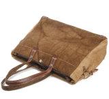 يغسل [100كتّون] نوع خيش حقائب قديم غلّة كرم تصميم رجل حقيبة يد ([رس-8564])