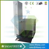 table élévatrice verticale de débronchement d'escalier d'utilisation à la maison de 2m