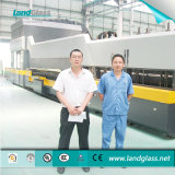 中国のLandglassガラスの和らげ、曲がる機械