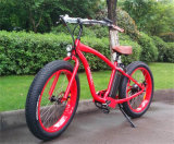500W Fat Tire électrique Plage Cruiser Bike