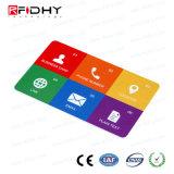 Des Drucken-Fabrik-Preis-RFID für öffentlichen Transport personifizieren Karte