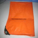 PE tissu tissé enduit imperméable, léger matériel imperméable bâche en toile de bateau