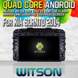 Witson S160 für KIA Sornto Spieler 2014 des Auto-DVD GPS mit Bildschirm 16GB grellem 1080P WiFi 3G vorderem DVR DVB-T Spiegel-Link Zacken des Vierradantriebwagen-Rk3188 des Kern-HD 1024X600 (W2-M442)