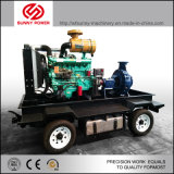 Сельское хозяйство орошения дизельного двигателя комплект водяного насоса с прицепом для продажи