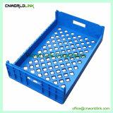 690x445x180mm plástico de alta calidad caja de Pan de panadería en bandeja de plástico