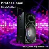 Shinco 15'' colunas portáteis Bluetooth Carrinho de Karaoke