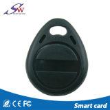 Aduana 125kHz Tk4100 RFID disponible Keychain para el control de acceso de la puerta
