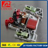 Материалы миниатюрных автоматов защити цепи Dz47-63 1-6A 10-32A 40-63A 2p MCB полные для серебряного контакта, катушки бондаря и придавая огнестойкость пластичной раковины