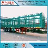 carico all'ingrosso di 60ton 3axles/rete fissa/del palo camion rimorchio semi