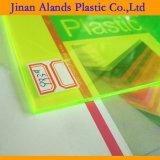 Strato acrilico di colore trasparente PMMA per il disegno e la visualizzazione