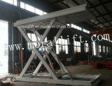 Le levage vertical de ciseaux de véhicule manuel avec du CE reconnaissent