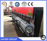 Wc67y Series Visor Digital placa hidráulica máquina de dobragem Wc67-125/4000