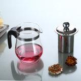 Pyrexガラスのやかんのホウケイ酸塩ガラスのギフトのティーポットのゆとりのガラス茶水差し