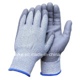 Разрежьте устойчив к безопасности рабочие перчатки нитриловые с покрытием